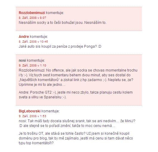 Nosi.cz - diskuze ke článku: Udělat z pěti korun deset, nebo mínus pět?