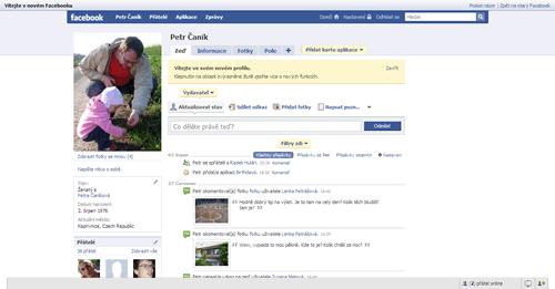 Nový Facebook: Faceliftem k větší přehlednosti
