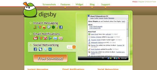 Digsby: Vyladěný kecálek s novými funkcemi