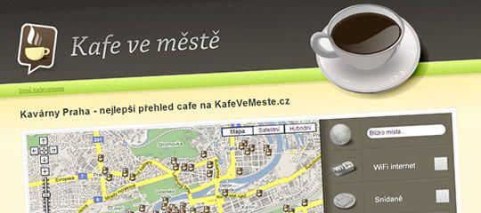 Kafe ve městě: Nevíte, kam na kafe?